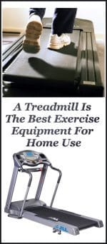 A Treadmill Is The Best Exercise Equipment For Home Use